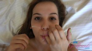 On your last day in Vegas with Kasey, she lets you give her a facial
